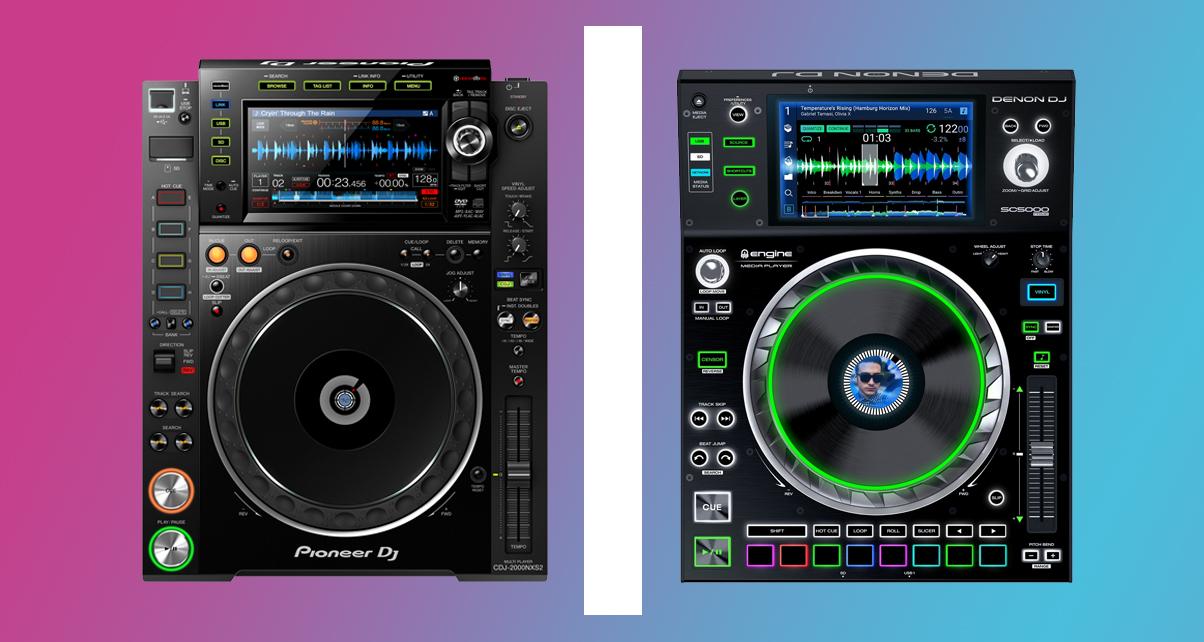 Head To Head: Pioneer DJ CDJ-2000NXS2 Vs Denon DJ SC5000 Prime