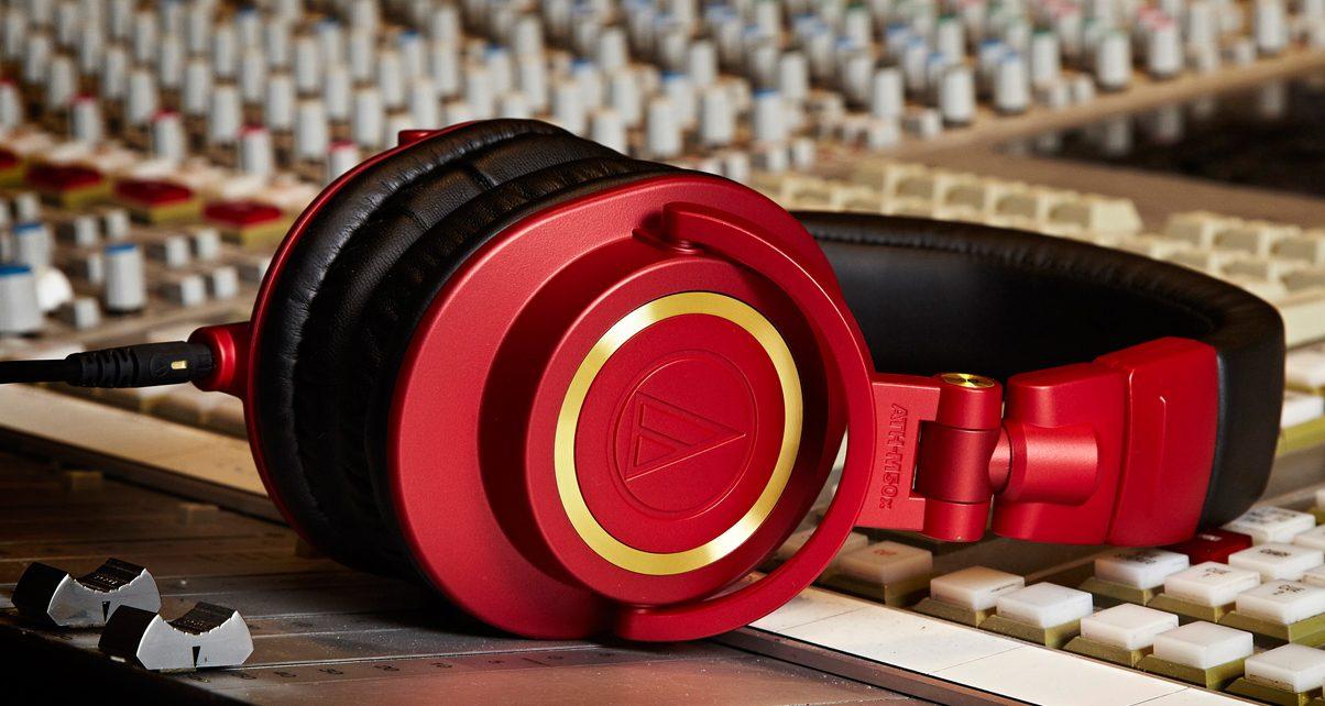 Audio-Technica-M50-Red