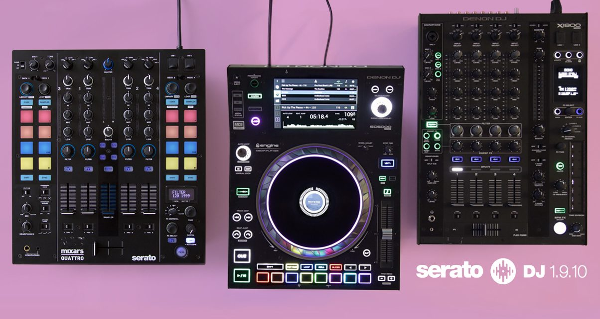 Serato DJ 1 9 10 Released, Adds macOS High Sierra Support