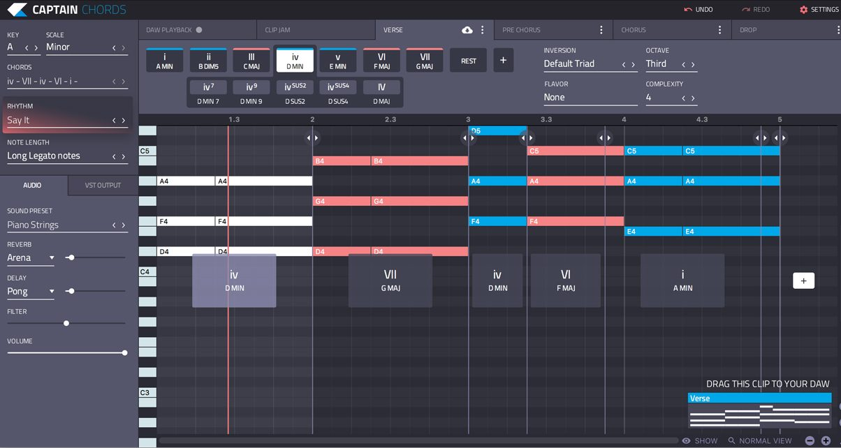 Easily Write Chords For Your Production With Captain Chords