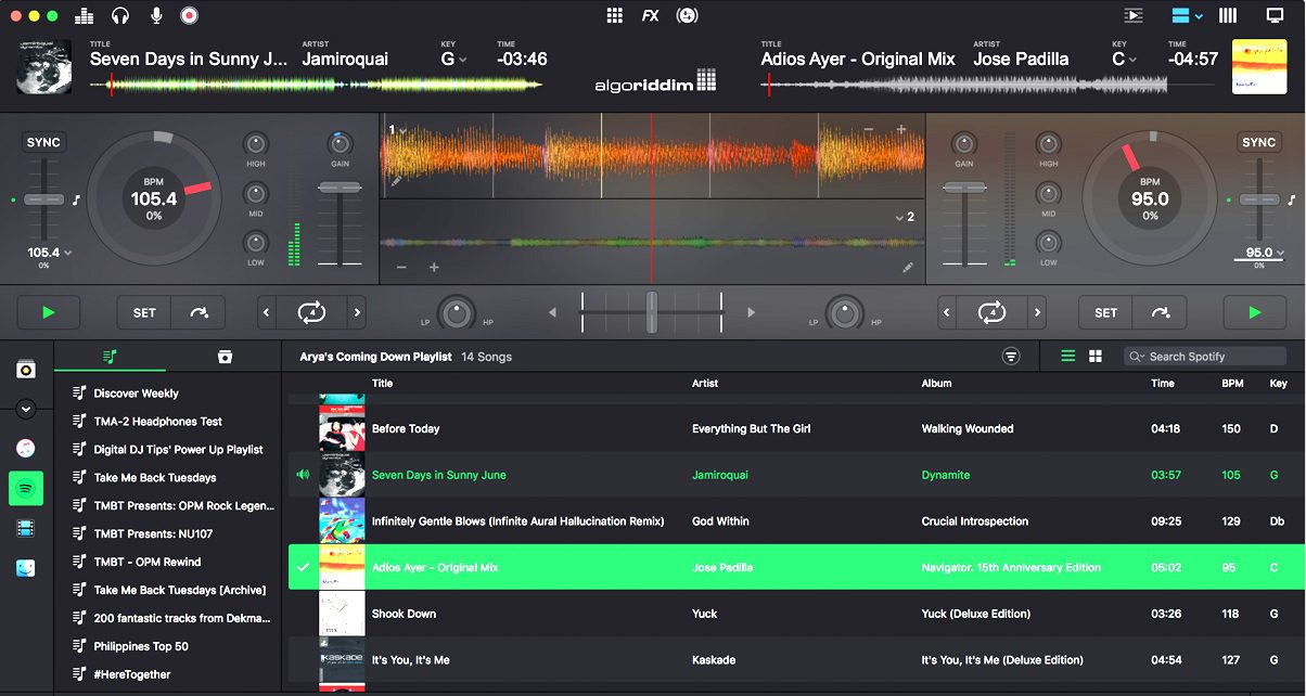 djay for windows 8 free download