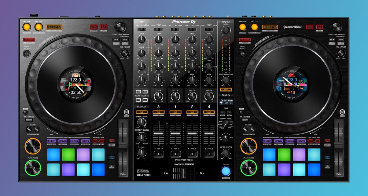 Pioneer DJ Launches DDJ-1000 Rekordbox DJ Controller With