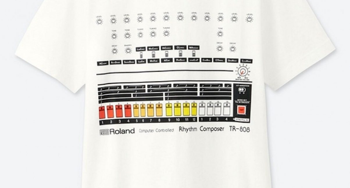 Roland & UNIQLO Team Up For TR-808 Drum Machine T-Shirts - Digital