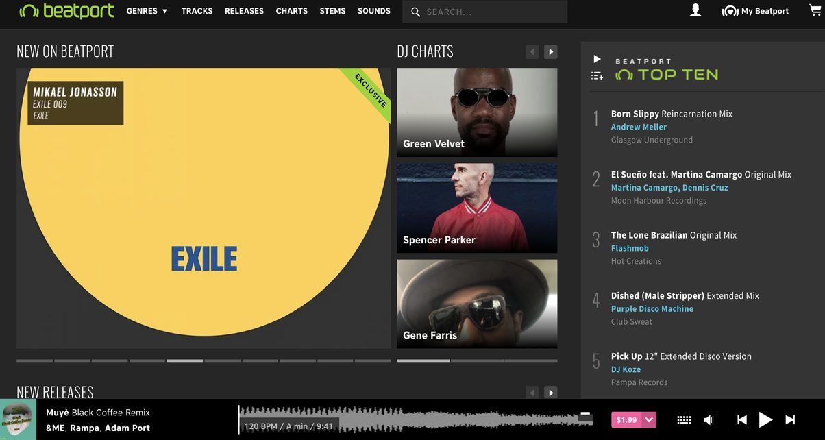 how to add your music to beatport