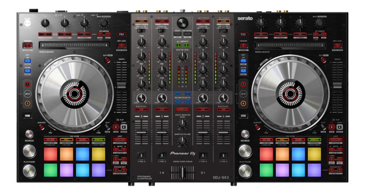 Pioneer ddj-sx serato dj controller price in india