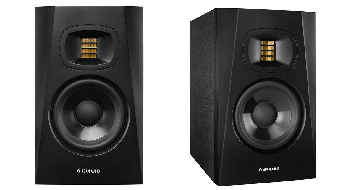 Adam Audio T5V Monitors Review - Digital DJ Tips