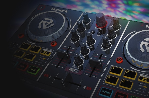 How to DJ with the Numark Party Mix (Virtual DJ Edition