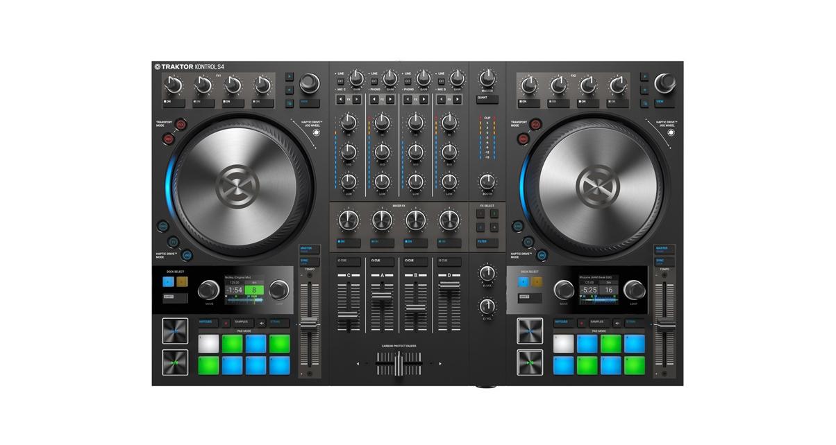 Audio/midi Interfaces Faithful Native Instruments Audio 4 Dj
