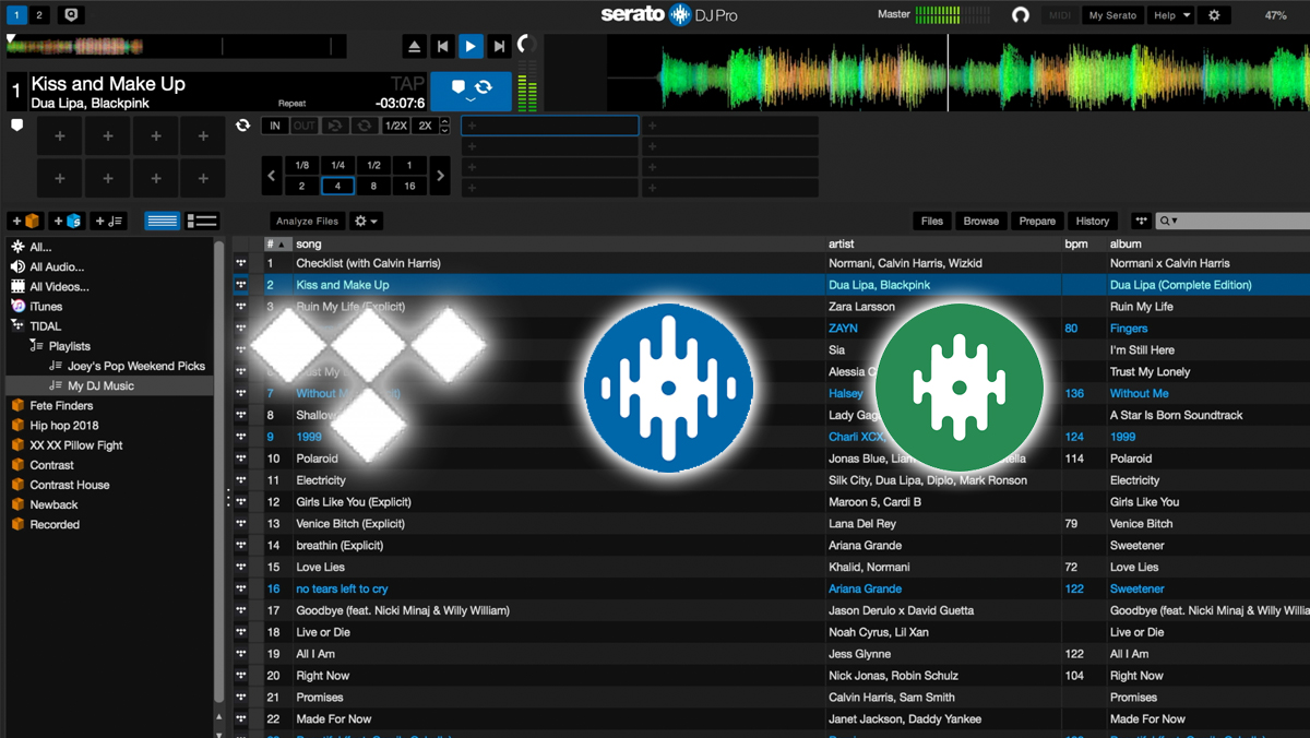 First Look: Tidal Music Streaming In Serato - Digital DJ Tips