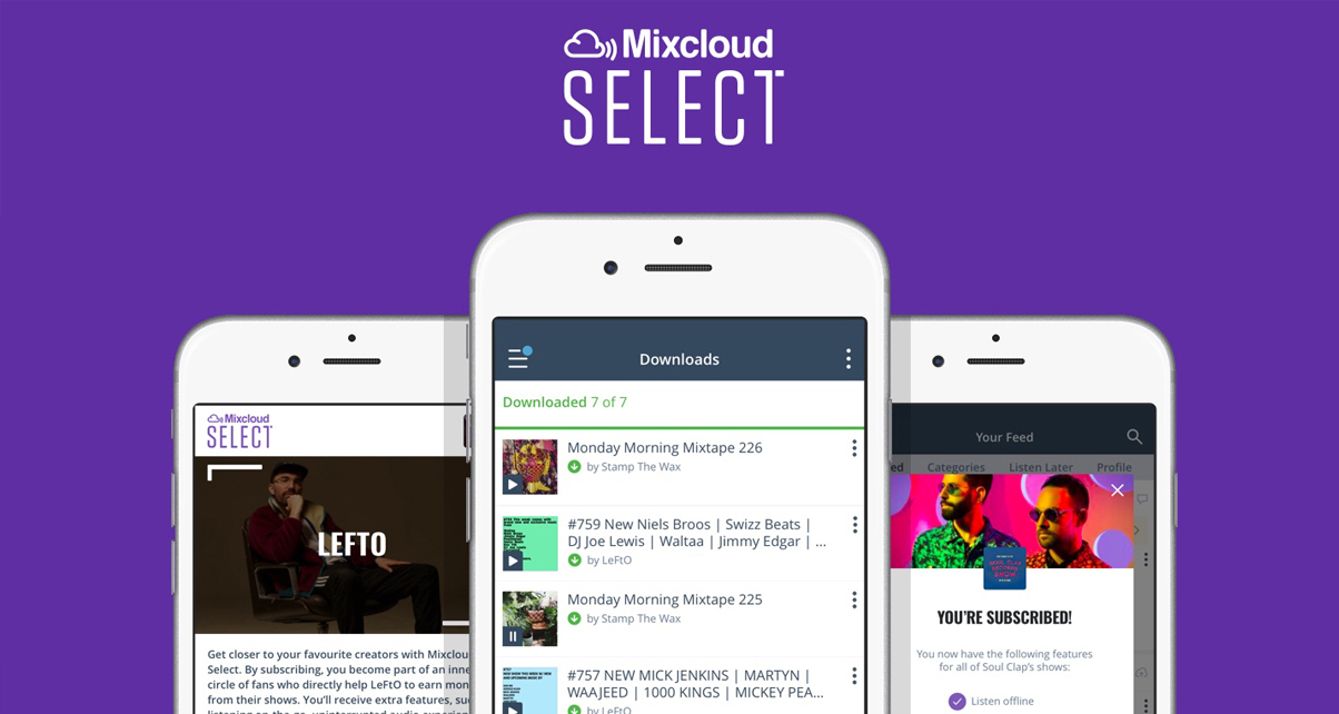Mixcloud Select Lets You Make Money With Your Mixtapes