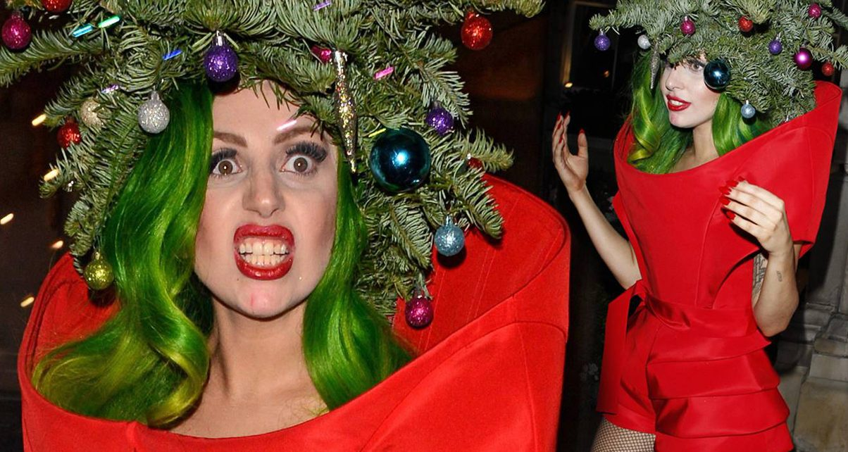 What's more festive than Lady Gaga dressed as a Christmas tree? Instead of  padding your Christmas playlist with Michael Bublé covers, sprinkle in  these ... - 10 Guilt-Free Christmas Songs For Your Festive Sets* - Digital DJ Tips