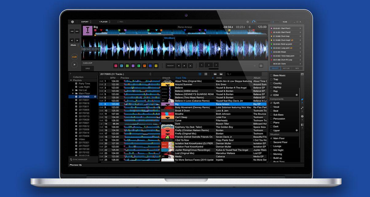 Hình ảnh: PIONEER DJ THỬ NGHIỆM REKORDBOX 5.4.4 VỚI TÍNH NĂNG PHÂN TÍCH TRACK NHẠC DỰA TRÊN ĐIỆN TOÁN ĐÁM MÂY số 1