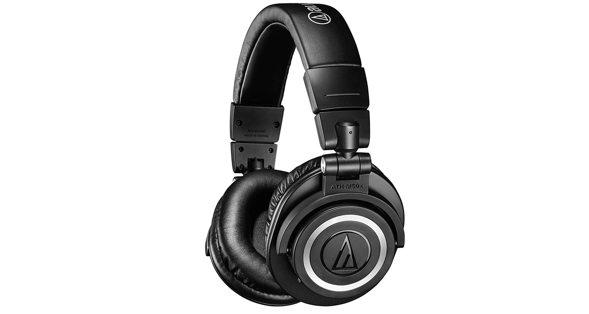fa6a42a75cd The Audio Technica ATH-M50xBT is an update to the original, this time with  added Bluetooth wireless connectivity for on-the-go use.