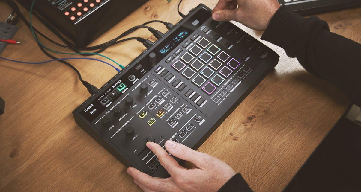 control your drum machines synths with pioneer dj 39 s toraiz squid sequencer digital dj tips. Black Bedroom Furniture Sets. Home Design Ideas
