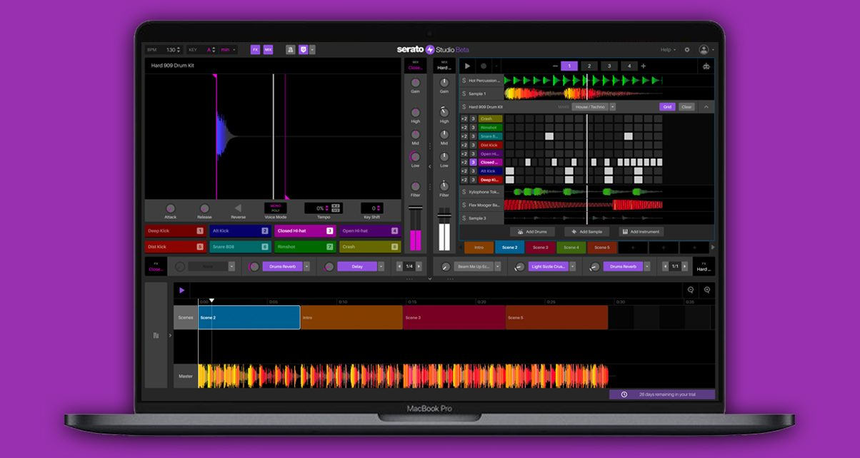 Serato Studio Beta Reopens, New Sound Pack & Features Added