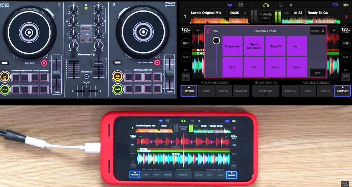 Pioneer DJ Launches DDJ-200 Controller & WeDJ Phone App + Beatport