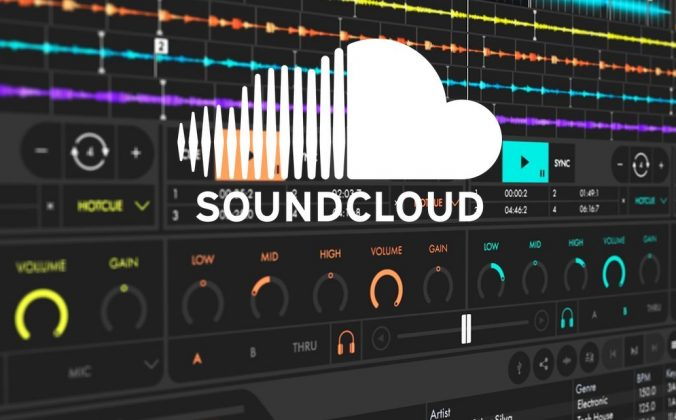 SoundCloud Cross DJ