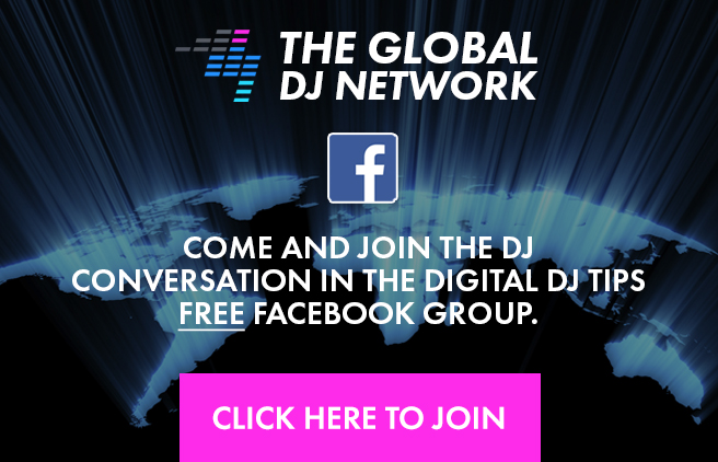 Join the Global DJ Network Facebook Page