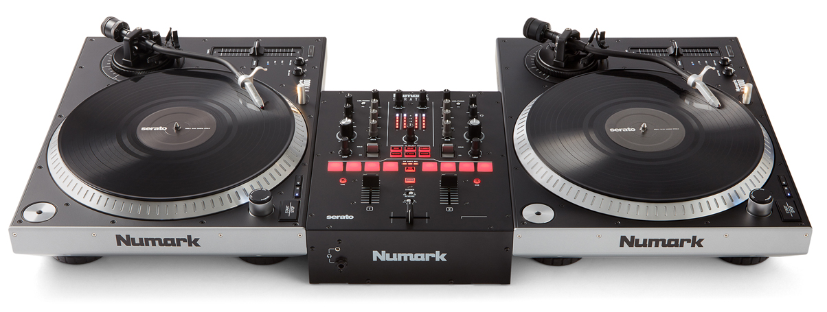 Numark Scratch Is A Two Channel Serato Dj Pro Mixer For