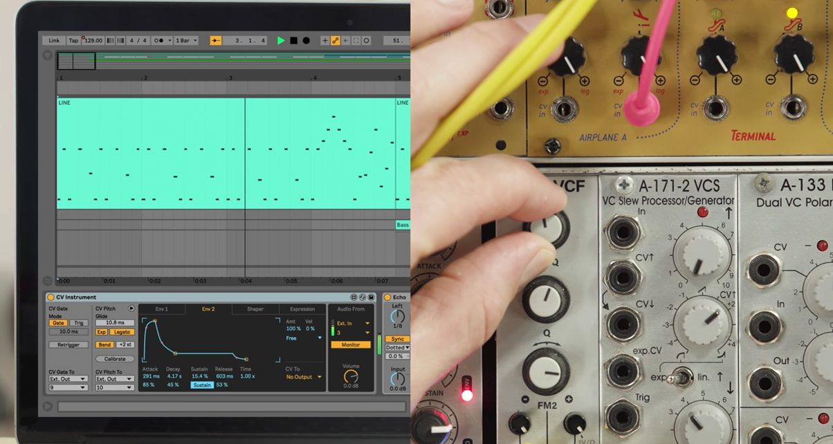 Got Modular Synths? Let Ableton Control Them With This Free