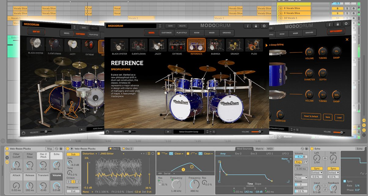 Add Realistic Acoustic Drum Sounds To Your Productions With