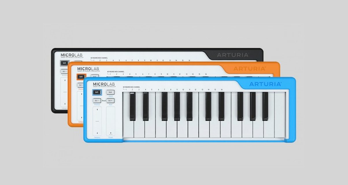 Make Music On The Move With Arturia's New Microlab Keyboard