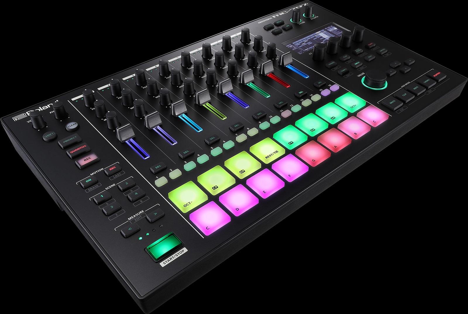 Roland Unveils MC-707 & MC-101 Grooveboxes - Digital DJ Tips