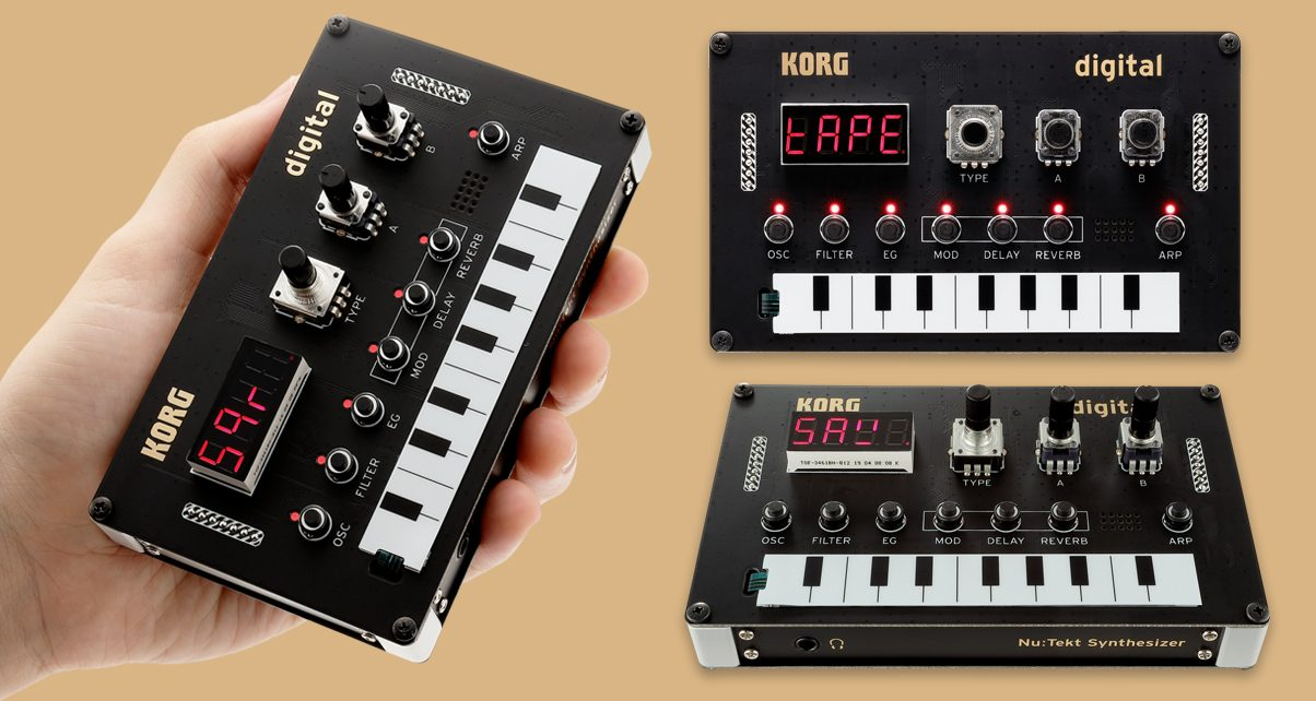 Build Your Own Mini Synth With The Korg NTS-1 Kit - Digital