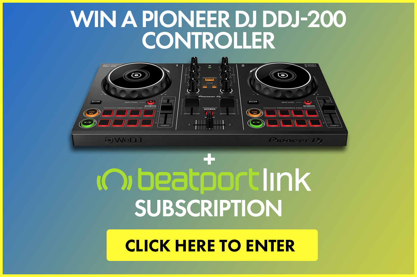 Win a Pioneer DJ DDJ-200