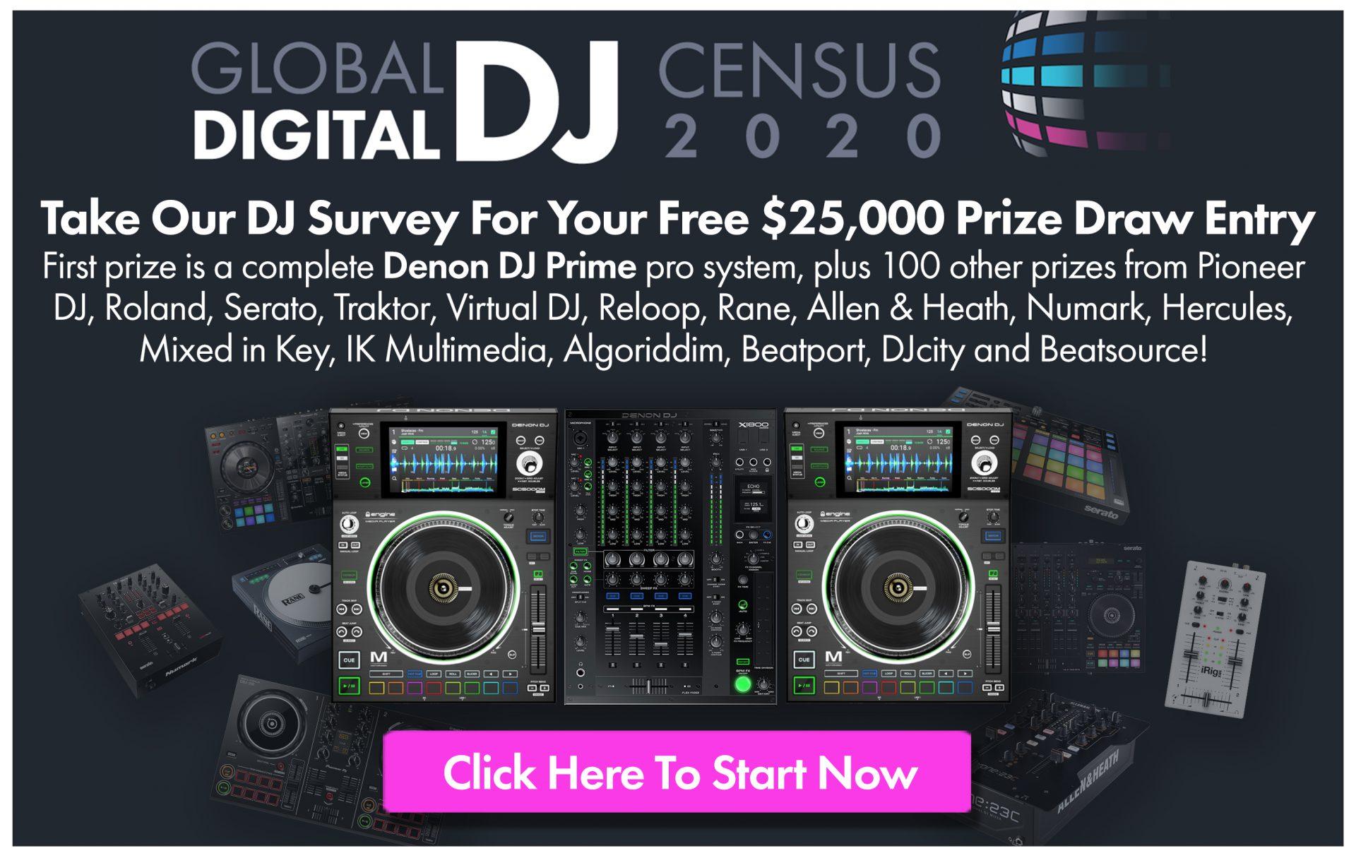 Numark DJ Census 2020