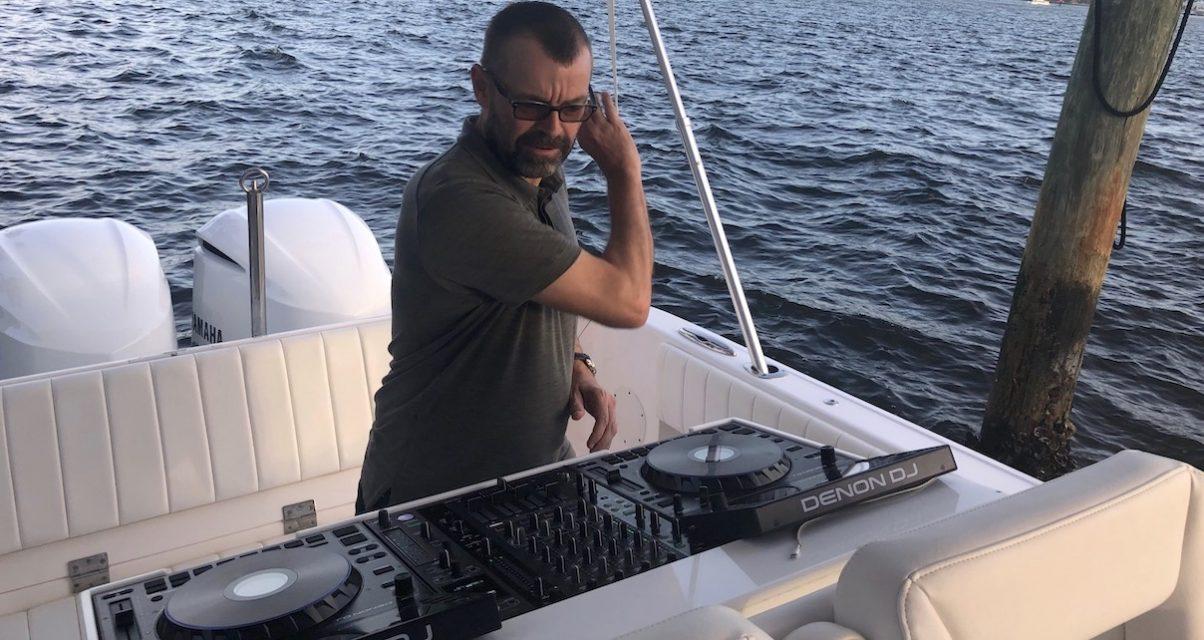 Denon DJ boat