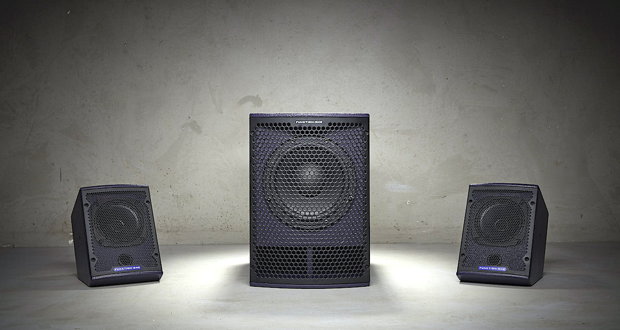 Funktion One SB8 & F5 Is A Speaker System For Everyone - Digital DJ Tips