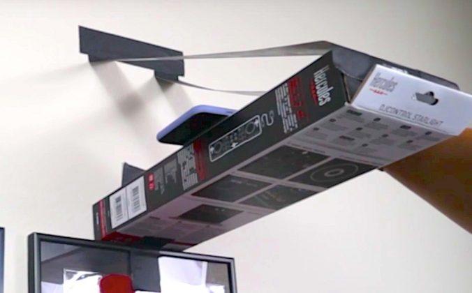 Overhead camera setup