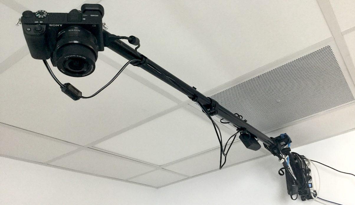 Pro overhead camera stup
