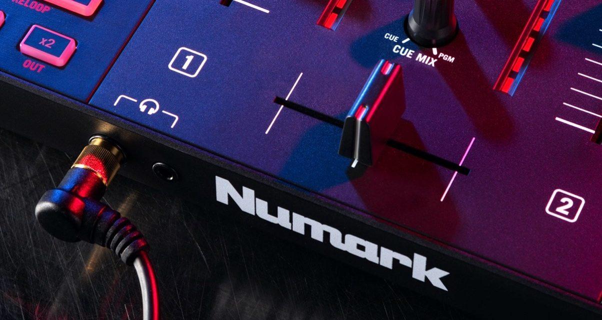 Mixtrack Platinum FX crossfader