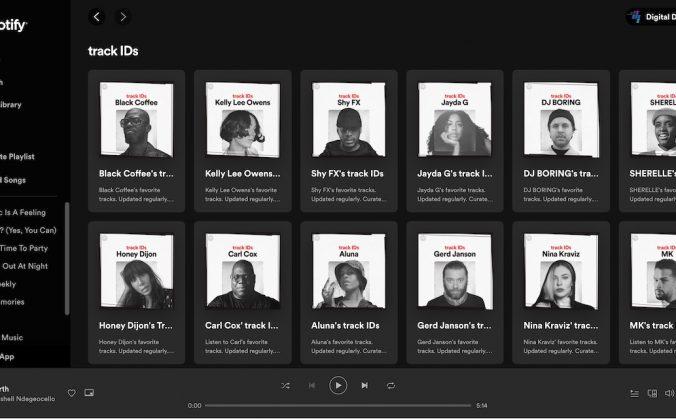 Spotify TrackID