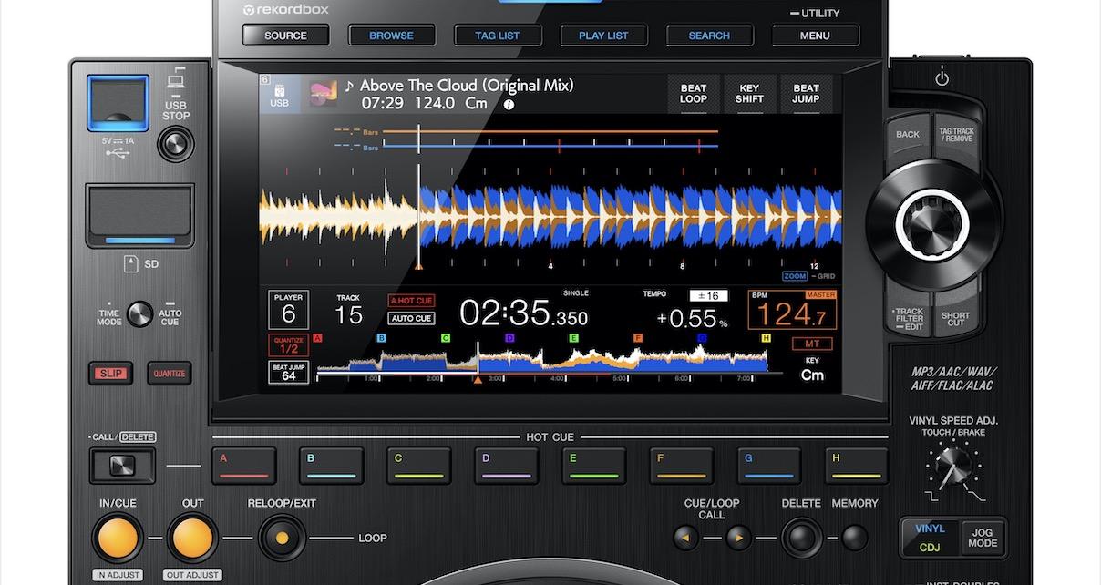 CDJ-3000 screen