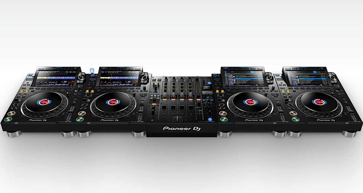 CDJ-3000 full set-up