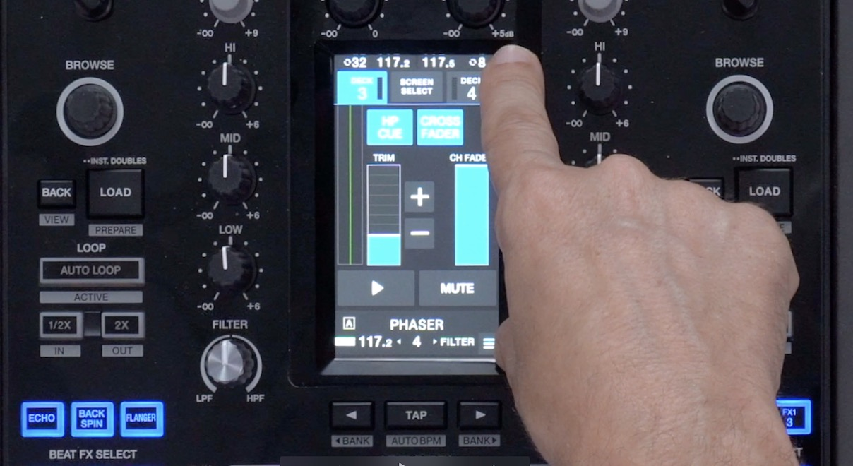 DJM-S11 Touchscreen