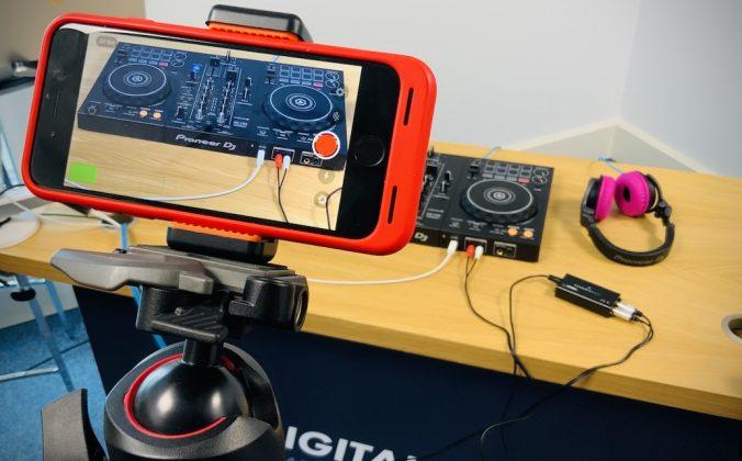 Phone Dj streaming