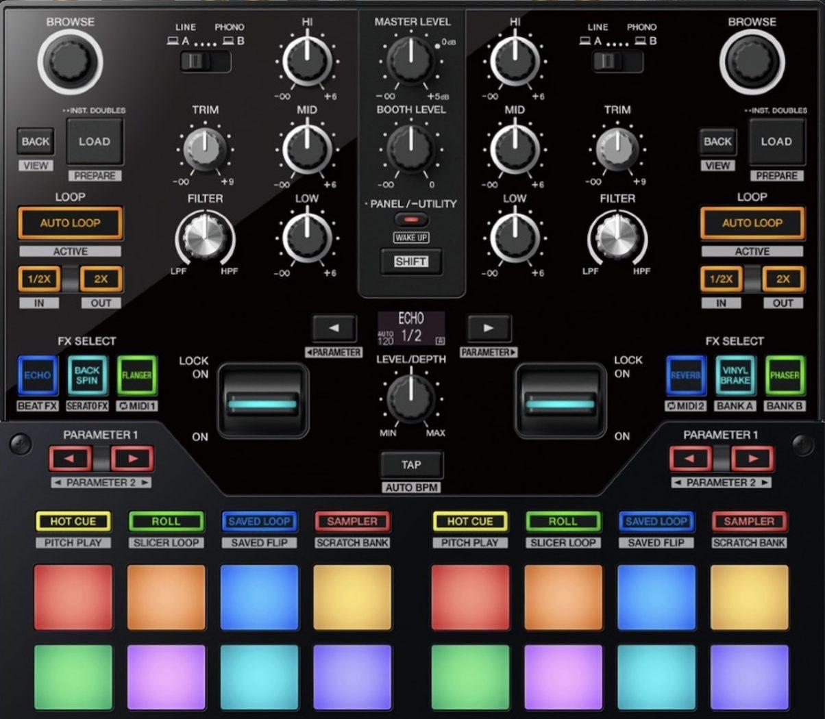 DJM-S7 controls