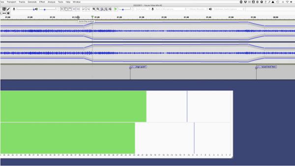 Mastering DJ mixes in Audacity