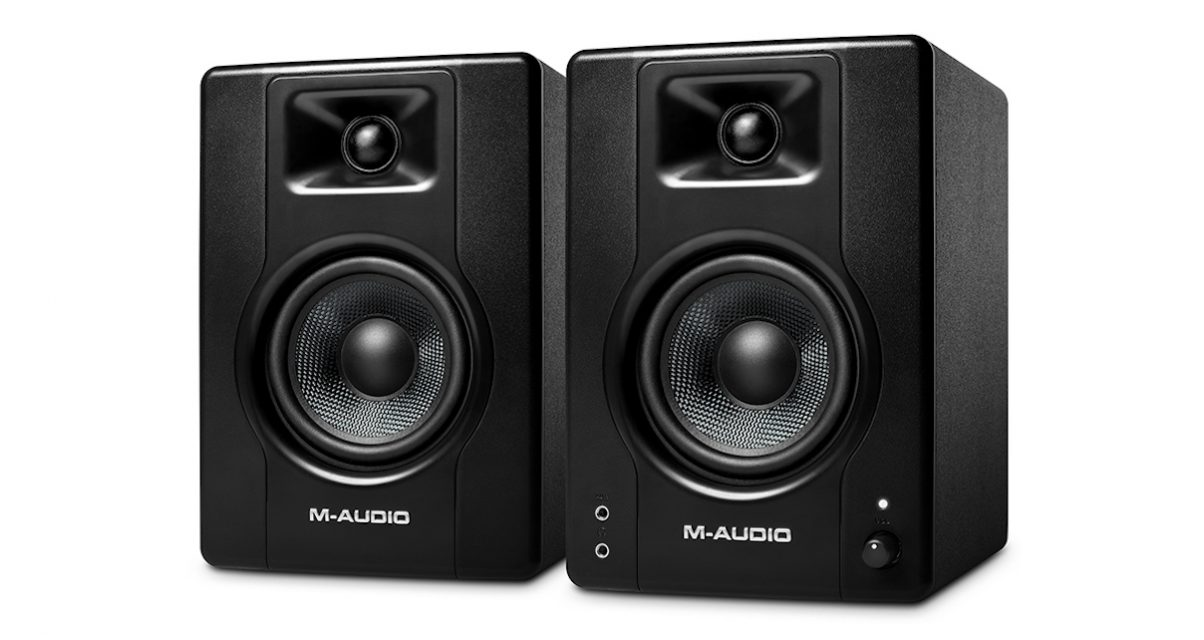 M-audio BX4 Review