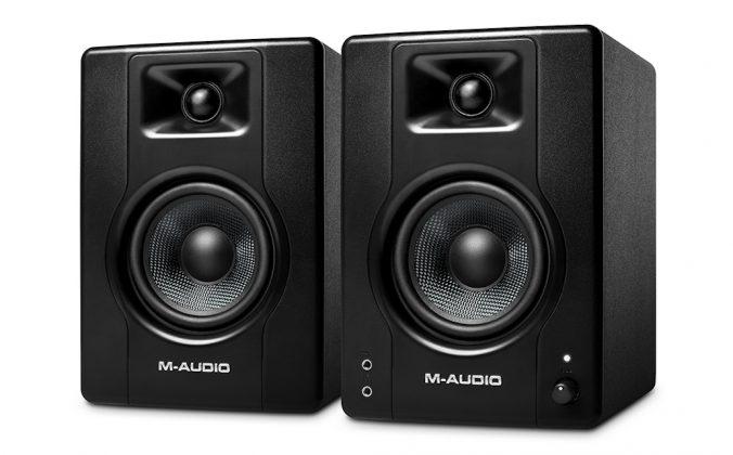M-audio BX4 Review