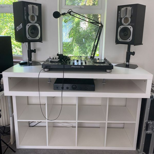 right height for DJ desk