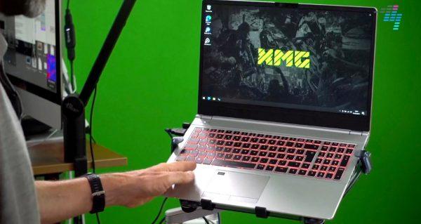 Example of XMG DJ laptop