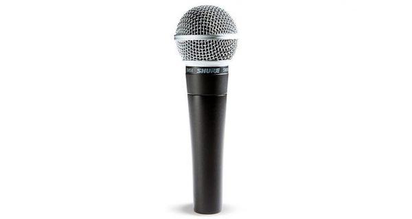 Shure SM58 handheld microphone