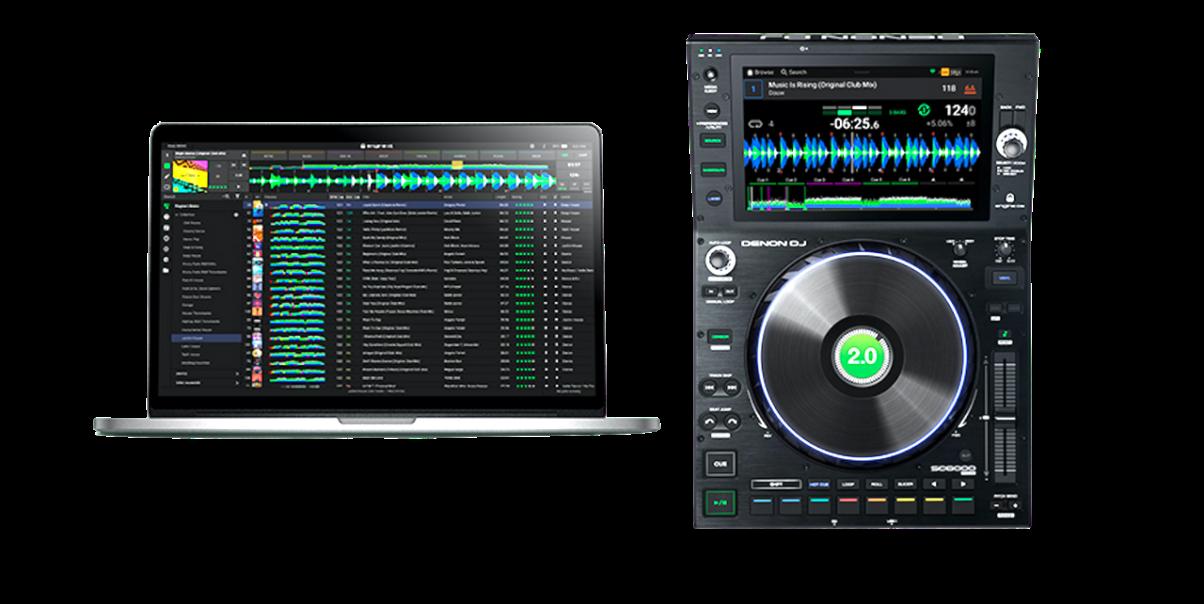 Engine DJ 2.0 desktop and OS