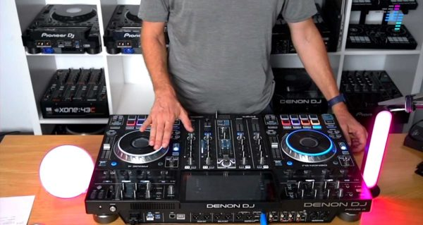 Testing out the Philips Hue lighting with Denon DJ gear