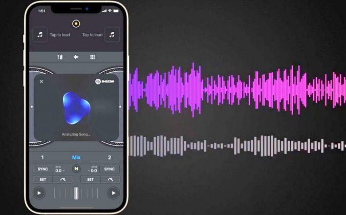 Shazam analysis for DJ software